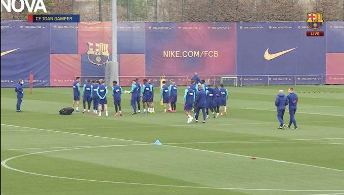 تدريبات برشلونة 3
