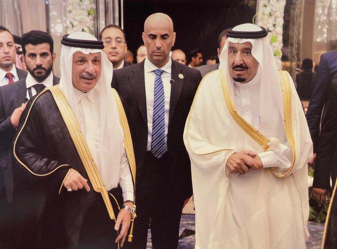 احمد قطان والملك سلمان