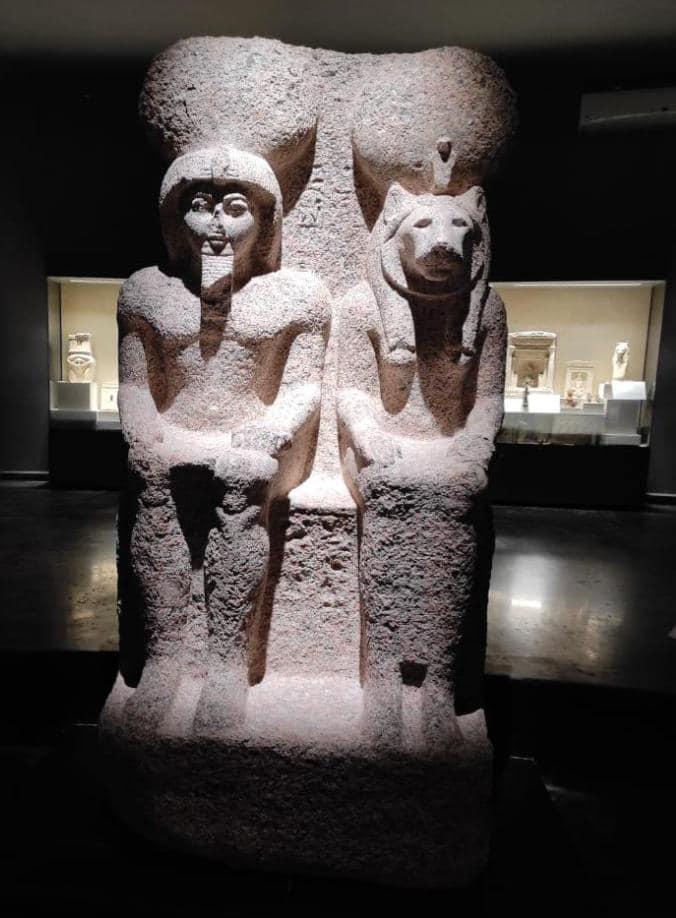 تماثيل  يعرضها متحف كفر الشيخ