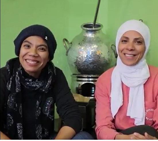 الأختان إيمان وآيات