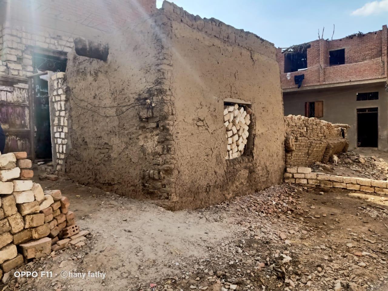 قرية نزلة الزاوية  عمار  التابعة لمركز ببا بمحافظة بنى سويف (1)