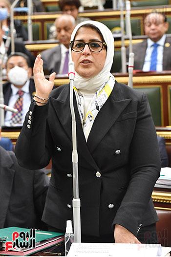 هالة زايد فى مجلس النواب (2)