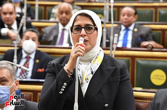 هالة زايد فى مجلس النواب (1)