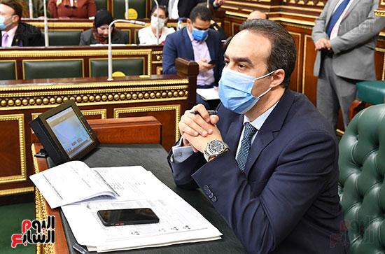 هالة زايد فى مجلس النواب (6)