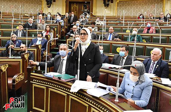 هالة زايد فى مجلس النواب (3)