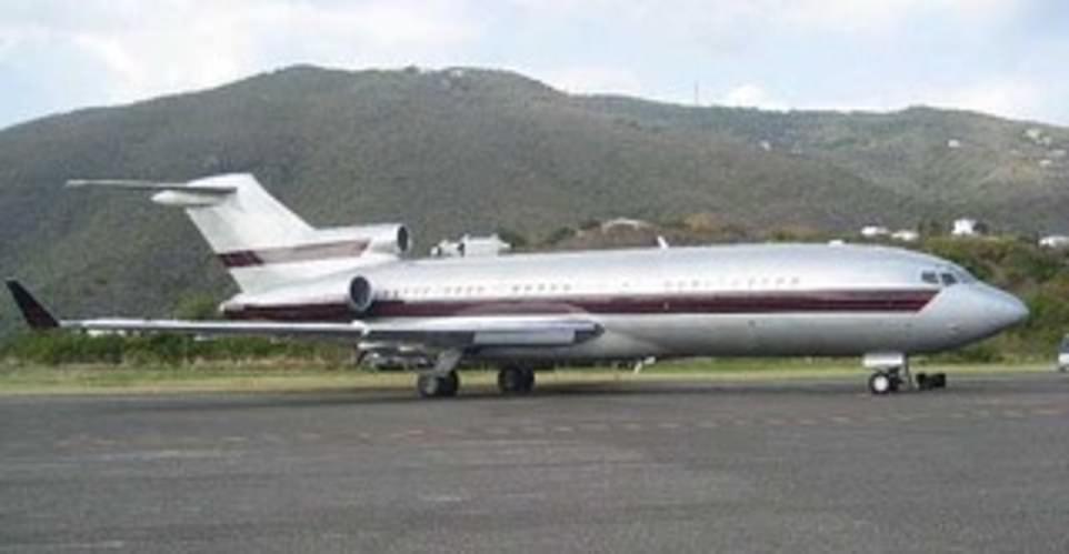 طائرة جيفري إبستين