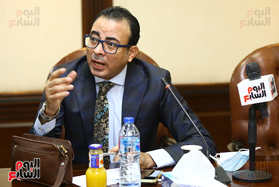 اجتماع المجلس الأعلى لتنظيم الإعلام بالقيادات الإعلامية (6)