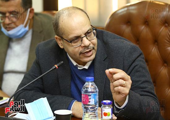 اجتماع المجلس الأعلى لتنظيم الإعلام بالقيادات الإعلامية (5)