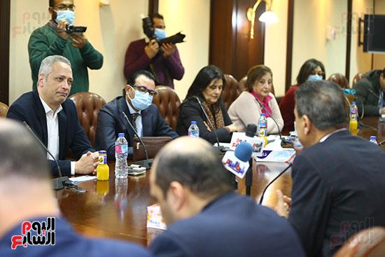 قيادات-الإعلام-فى-اجتماع-المجلس