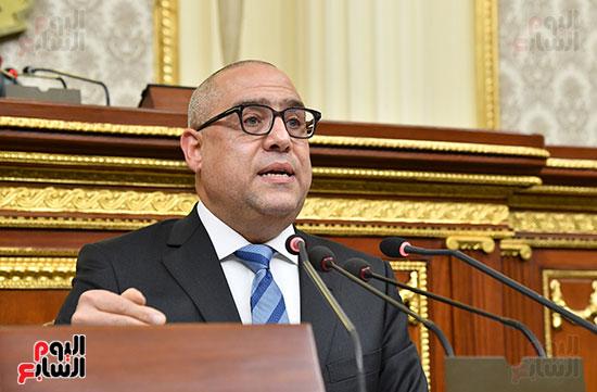 جلسة مجلس النواب برئاسة المستشار الدكتور حنفي جبالي  (14)