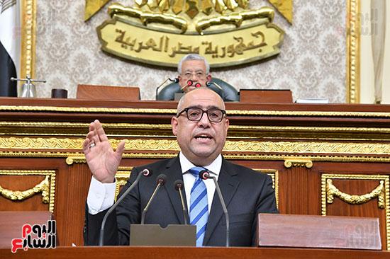 جلسة مجلس النواب برئاسة المستشار الدكتور حنفي جبالي  (8)
