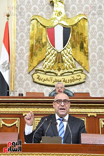 جلسة مجلس النواب برئاسة المستشار الدكتور حنفي جبالي  (9)
