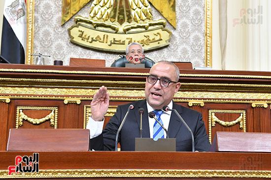 جلسة مجلس النواب برئاسة المستشار الدكتور حنفي جبالي  (2)