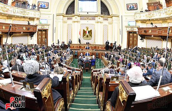 جلسة مجلس النواب بحضور وزير الاثار (3)