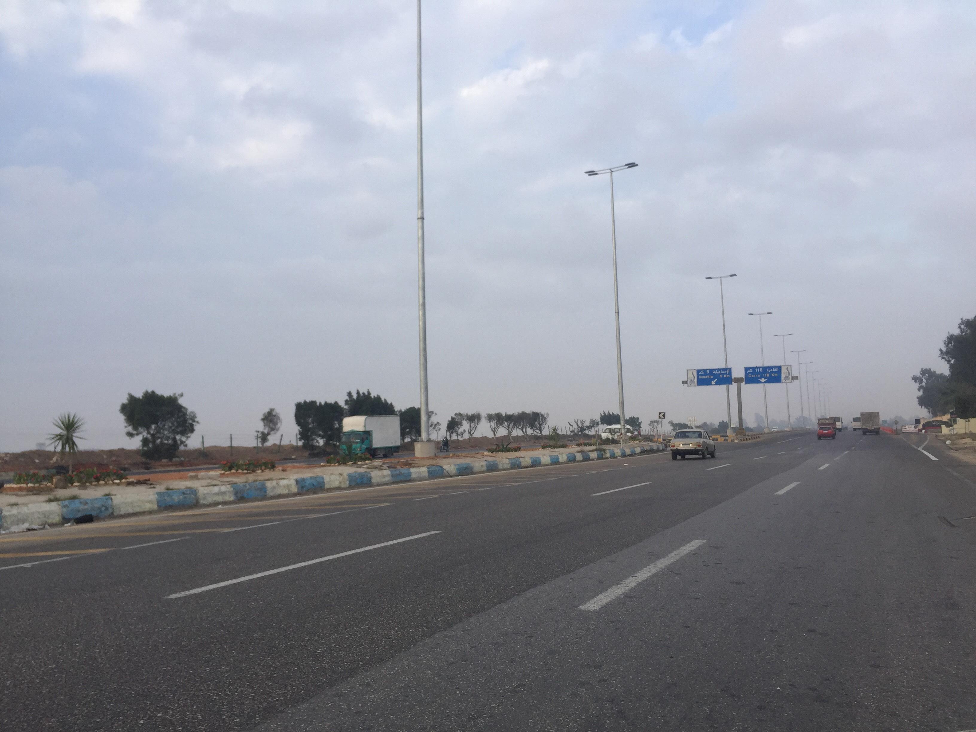 سيولة مرورية بطريق الاسماعيلية القاهرة (7)
