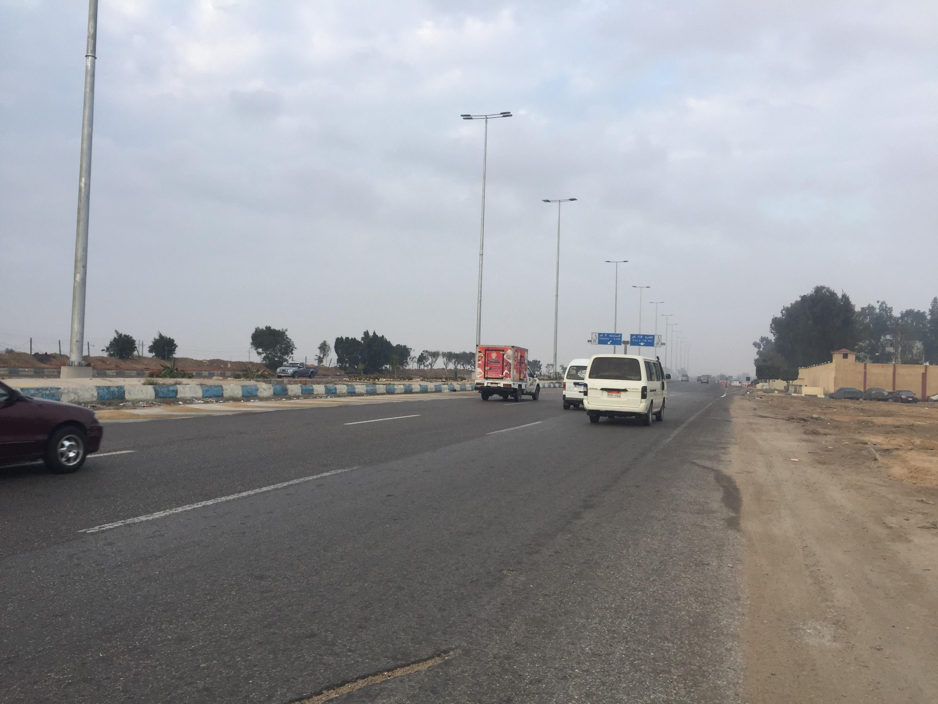 سيولة مرورية بطريق الاسماعيلية القاهرة (11)