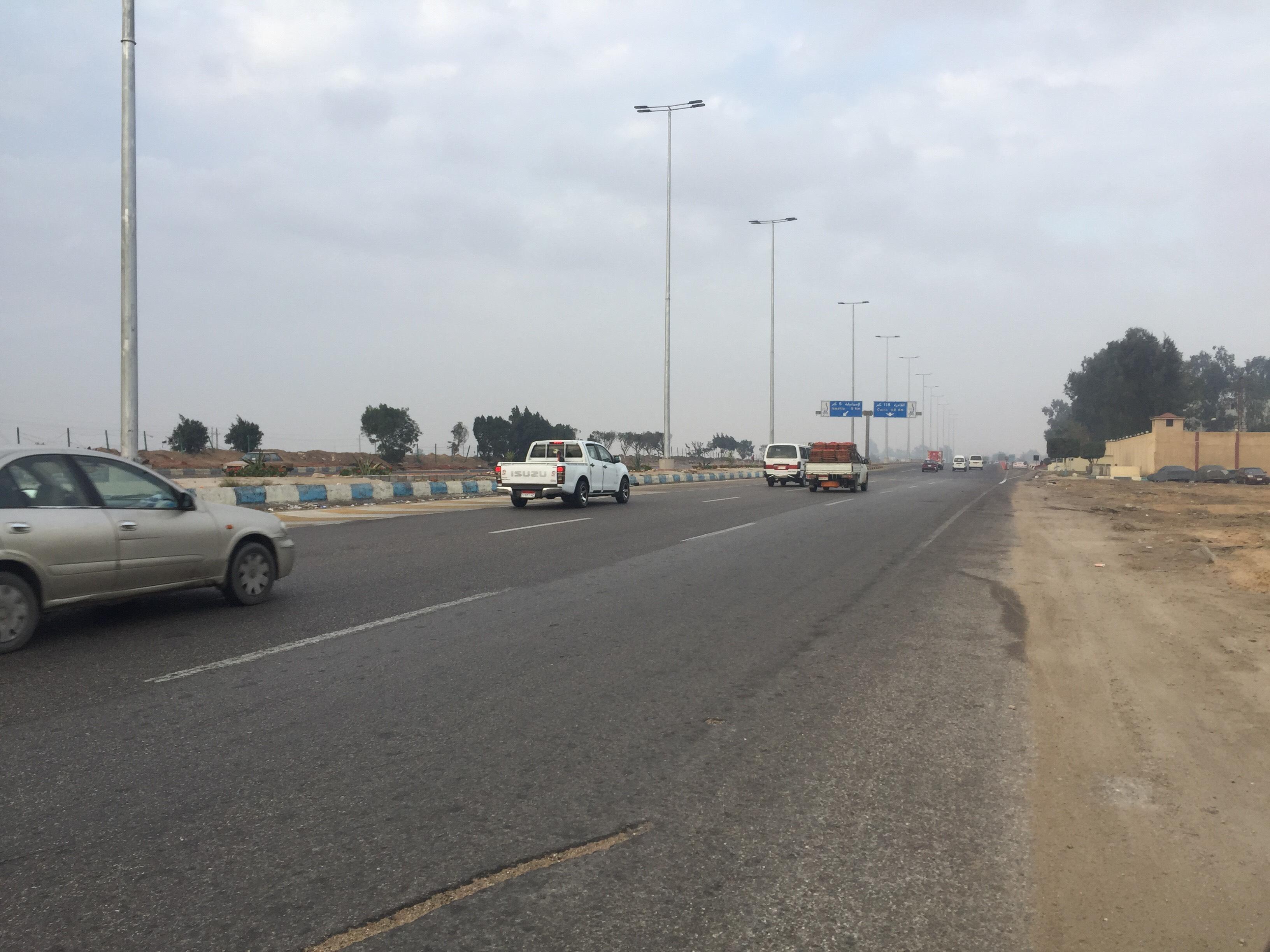 سيولة مرورية بطريق الاسماعيلية القاهرة (8)