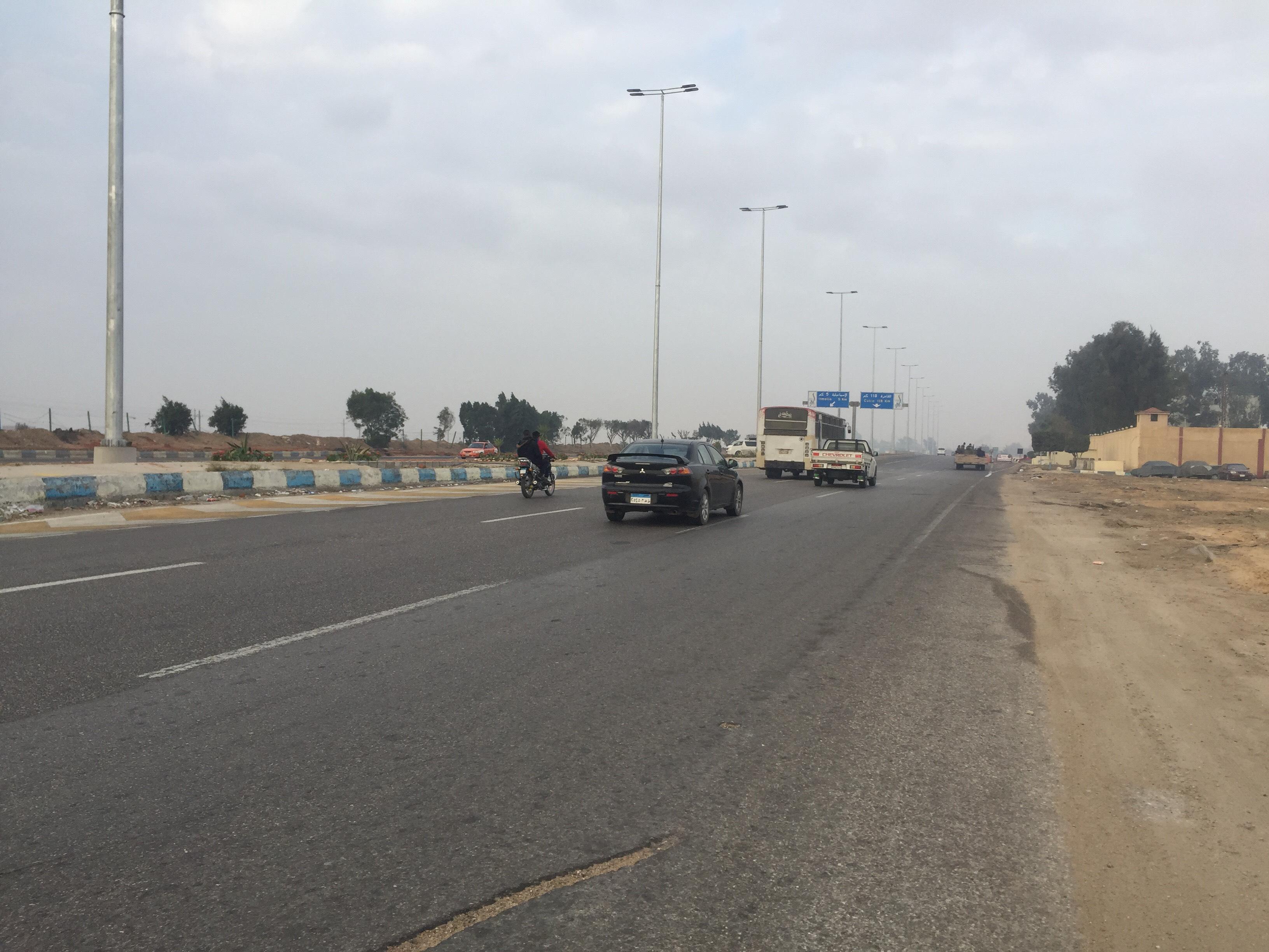 سيولة مرورية بطريق الاسماعيلية القاهرة (10)