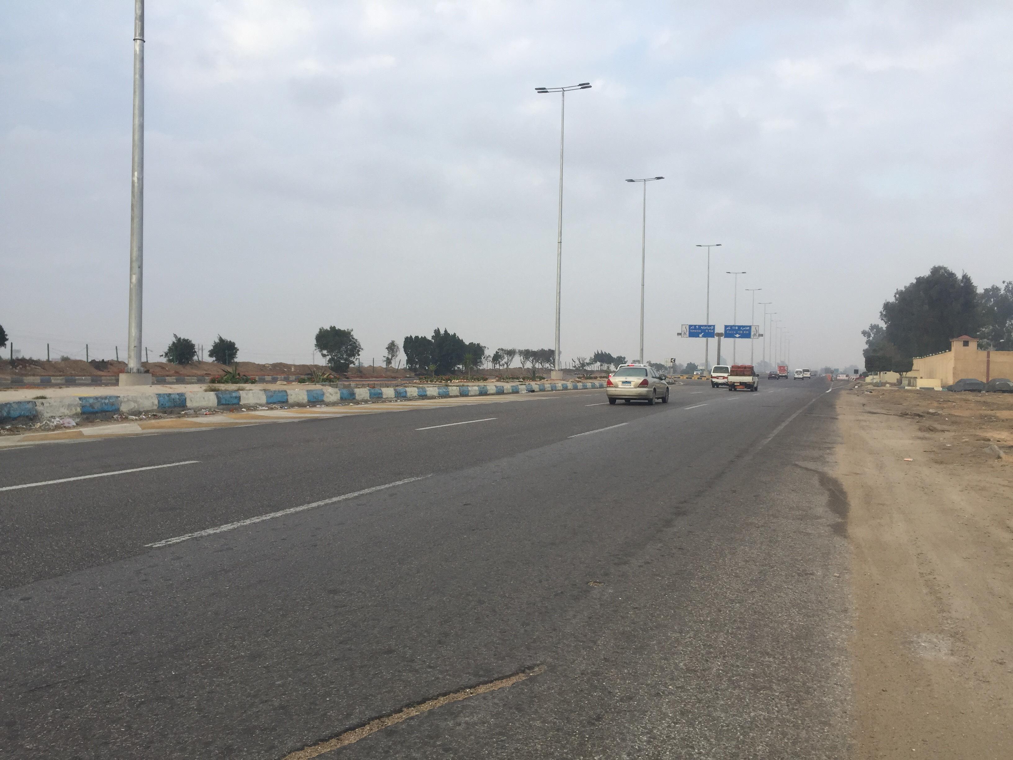 سيولة مرورية بطريق الاسماعيلية القاهرة (9)