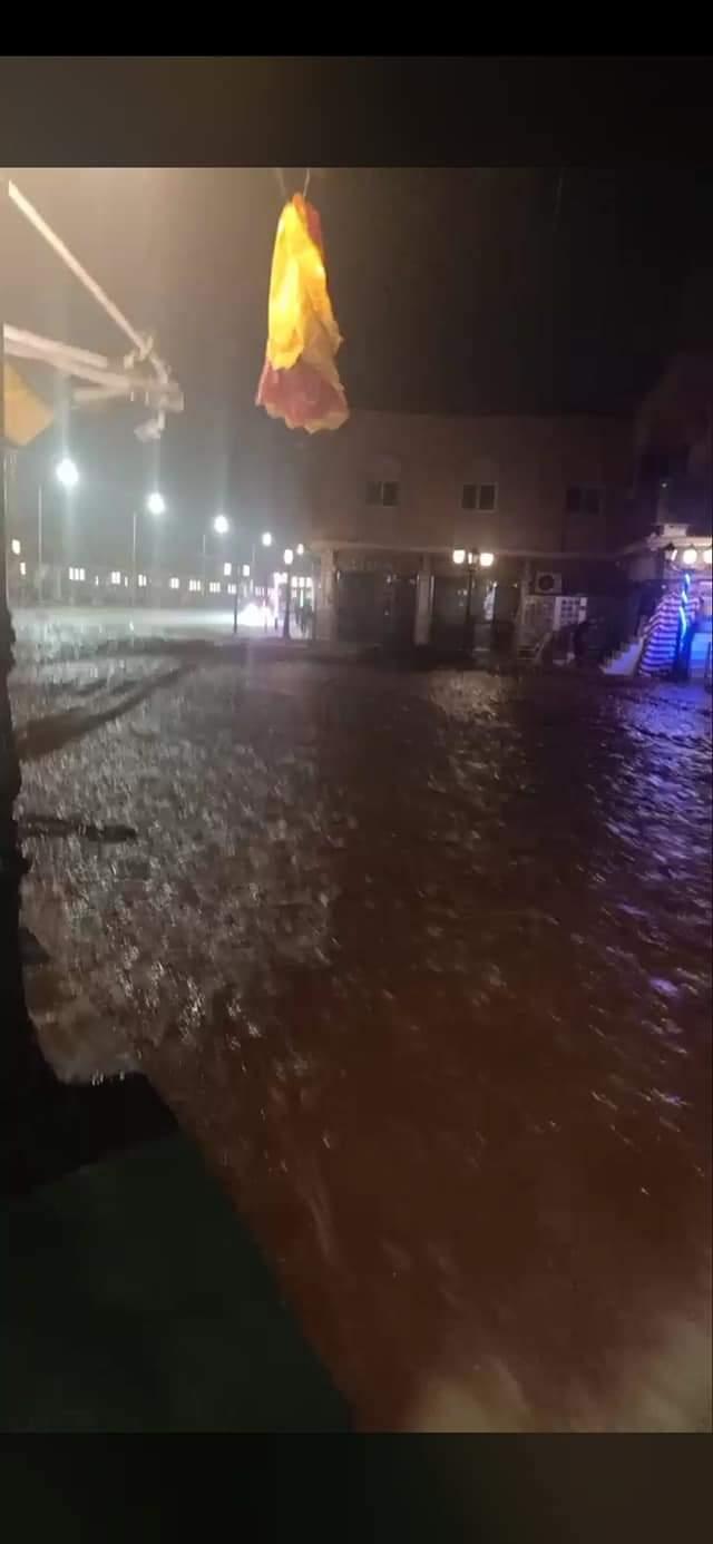 السيول تغرق مدينة شرم الشيخ  (2)