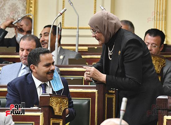 جلسة مجلس النواب بحضور وزير الاثار (6)