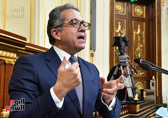جلسة مجلس النواب بحضور وزير الاثار (9)