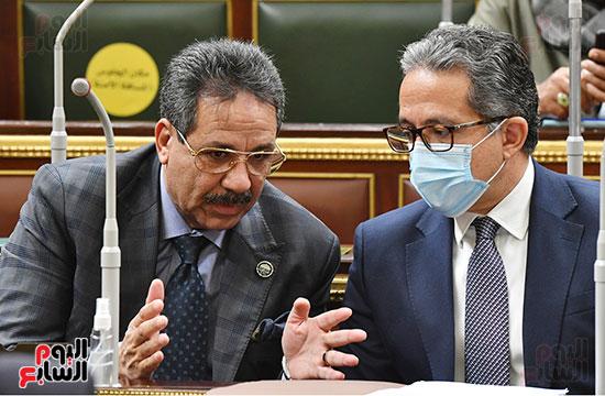 المناقشة النيابية لوزير الأثار والسياحة الدكتور خالد العناني (4)