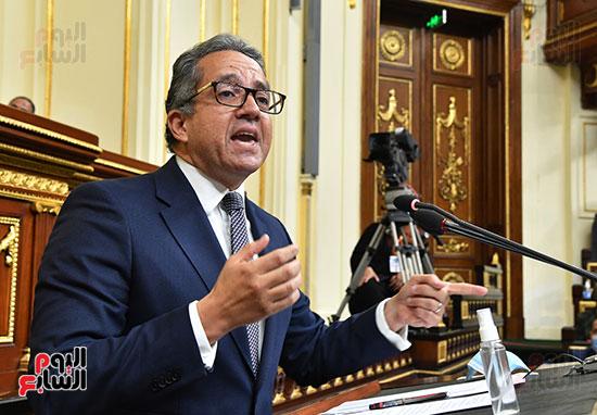 جلسة مجلس النواب بحضور وزير الاثار (11)