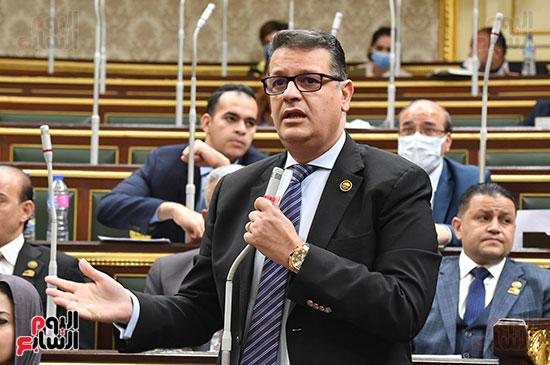 جلسة مجلس النواب بحضور وزير الاثار (58)