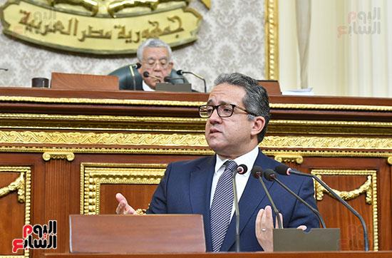 جلسة مجلس النواب بحضور وزير الاثار (4)