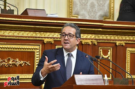 جلسة مجلس النواب بحضور وزير الاثار (69)