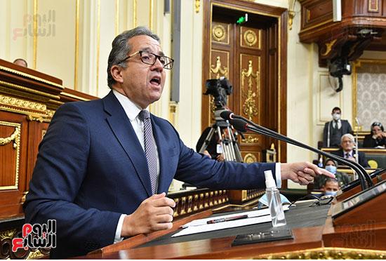 جلسة مجلس النواب بحضور وزير الاثار (10)