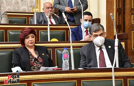 جلسة مجلس النواب بحضور وزير الاثار (41)