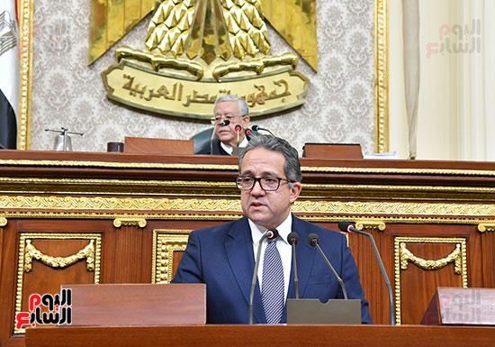 جلسة مجلس النواب بحضور وزير الاثار (39)