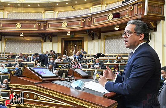 جلسة مجلس النواب بحضور وزير الاثار (43)