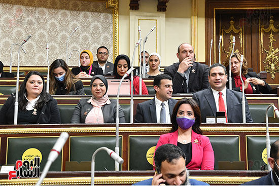 جلسة مجلس النواب بحضور وزير الاثار (29)