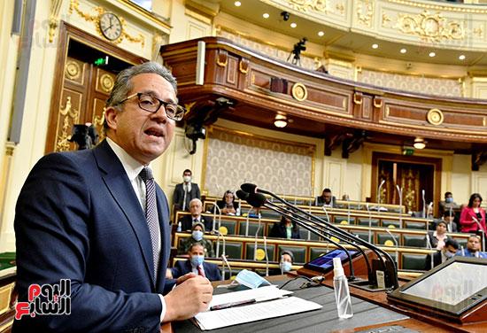جلسة مجلس النواب بحضور وزير الاثار (8)