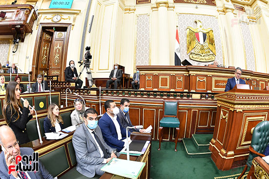 جلسة مجلس النواب بحضور وزير الاثار (18)