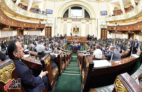 جلسة مجلس النواب بحضور وزير الاثار (2)