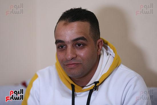 علاء السيد فرج، شقيق الشهيد فرج السيد فرج (1)