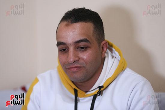 علاء السيد فرج، شقيق الشهيد فرج السيد فرج (2)