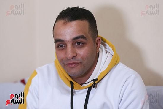 علاء السيد فرج، شقيق الشهيد فرج السيد فرج (4)
