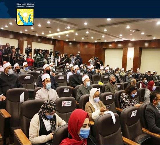 المشاركين في فعاليات دورة الاعلام الدينى