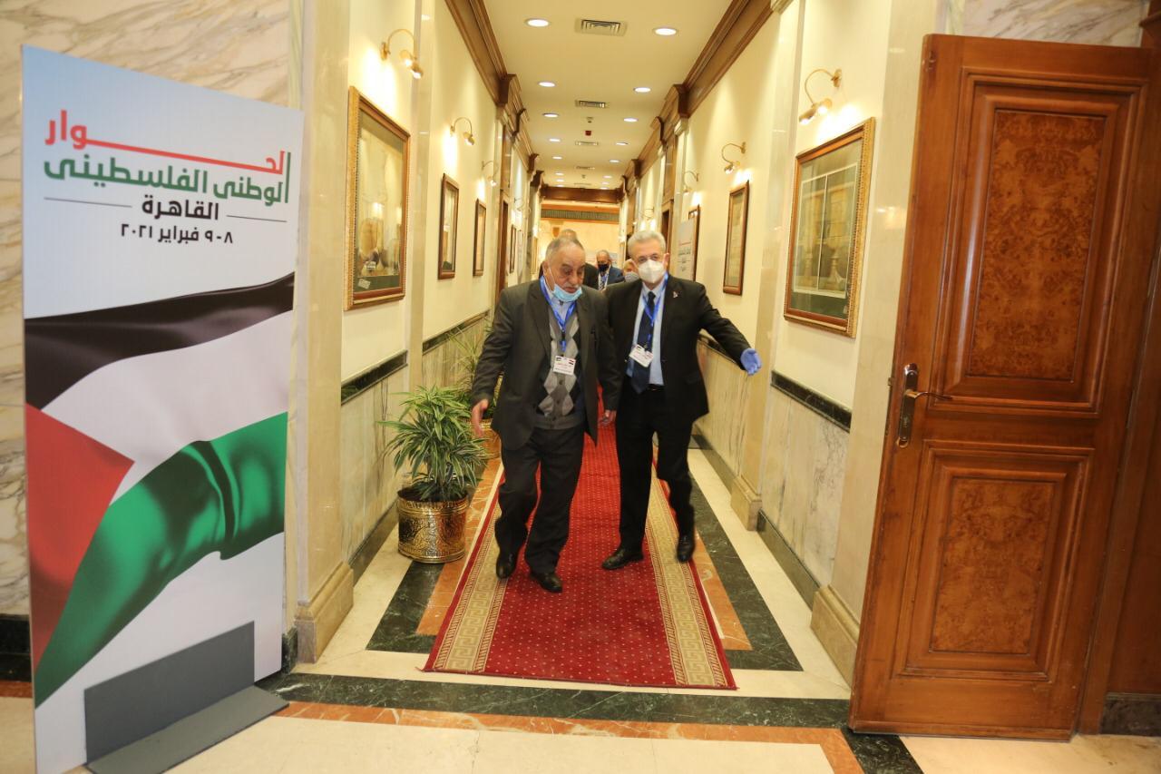 انطلاق اجتماعات الحوار الفلسطينى فى القاهرة