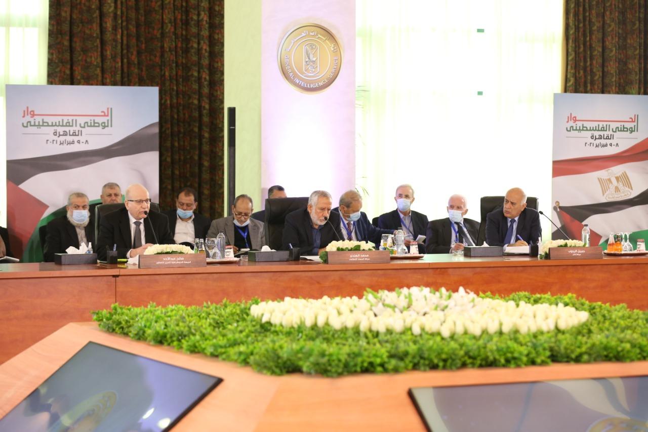 اجتماعات الفصائل الفلسطينية فى العاصمة القاهرة
