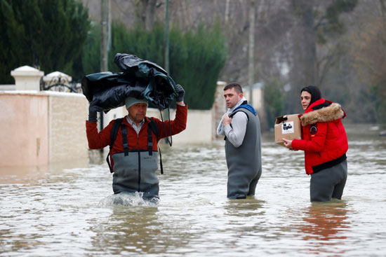 فيضانات فرنسا (6)