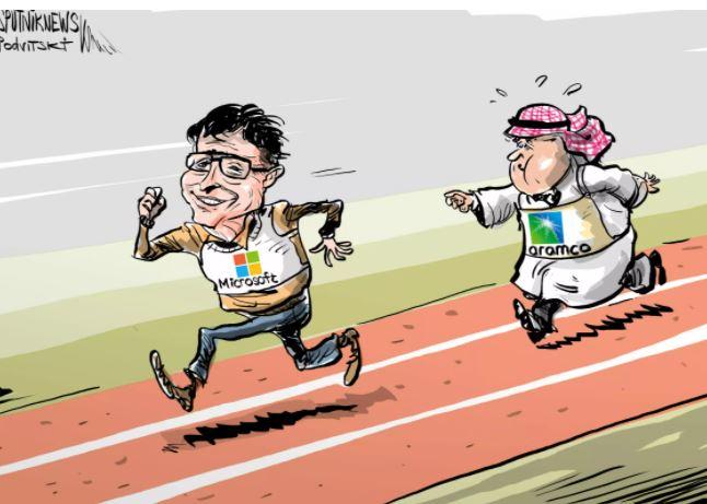 كاريكاتير سبوتنيك