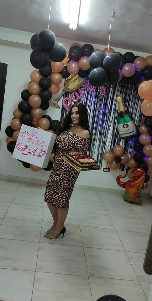 بهيرة منتصر تحتفل بطلاقها
