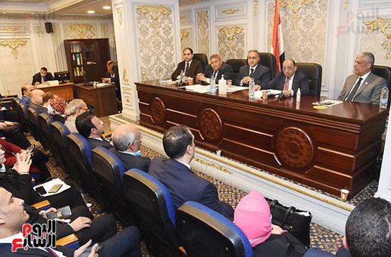 اجتماع لجنة الادارة المحلية  (2)