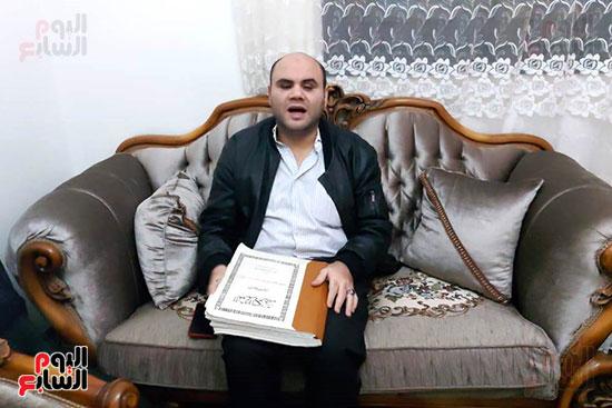 بلال-يقرأ-القرآن-الكريم-بطريقة-برايل